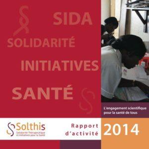 Couverture du rapport d'activité 2014
