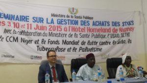Séminaire: assurer la gestion des approvisionnements et des stocks au Niger