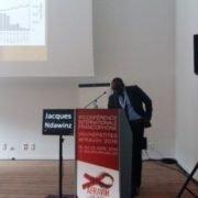 Communication Orale Faible accès des personnes vivant avec le VIH au TARV durant la crise EBOLA en Guinée et Sierra Leone présentée par J.Ndawinz