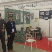 Stand de la Plateforme ELSA et de ses partenaires
