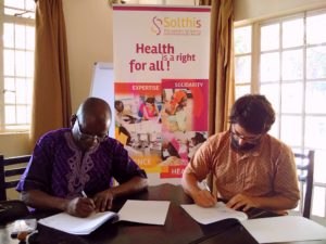 Projet Empower : Solthis signe la convention de partenariat avec Nethips