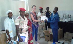 Equipement en matériel médical pour les infirmeries des prisons de Niamey et Say