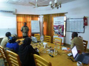 Formation du personnel soignant des prisons de Niamey et Say