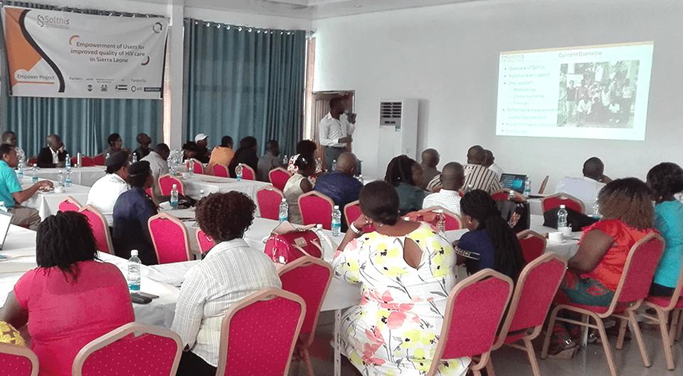 Acteurs de lutte contre le VIH en Sierra Leone : Atelier annuel avec Solthis