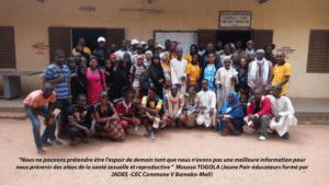 Echanges d'expériences entre les jeunes pairs- éducateurs du Mali et du Niger