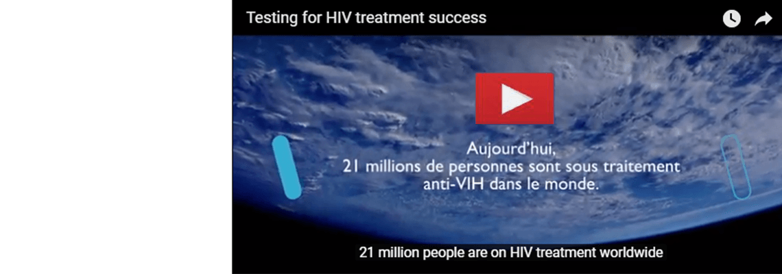 Testing for HIV treatment success