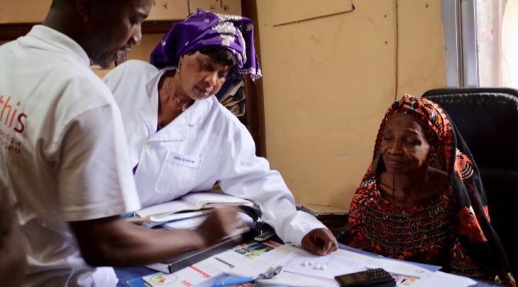 Solthis en Guinée