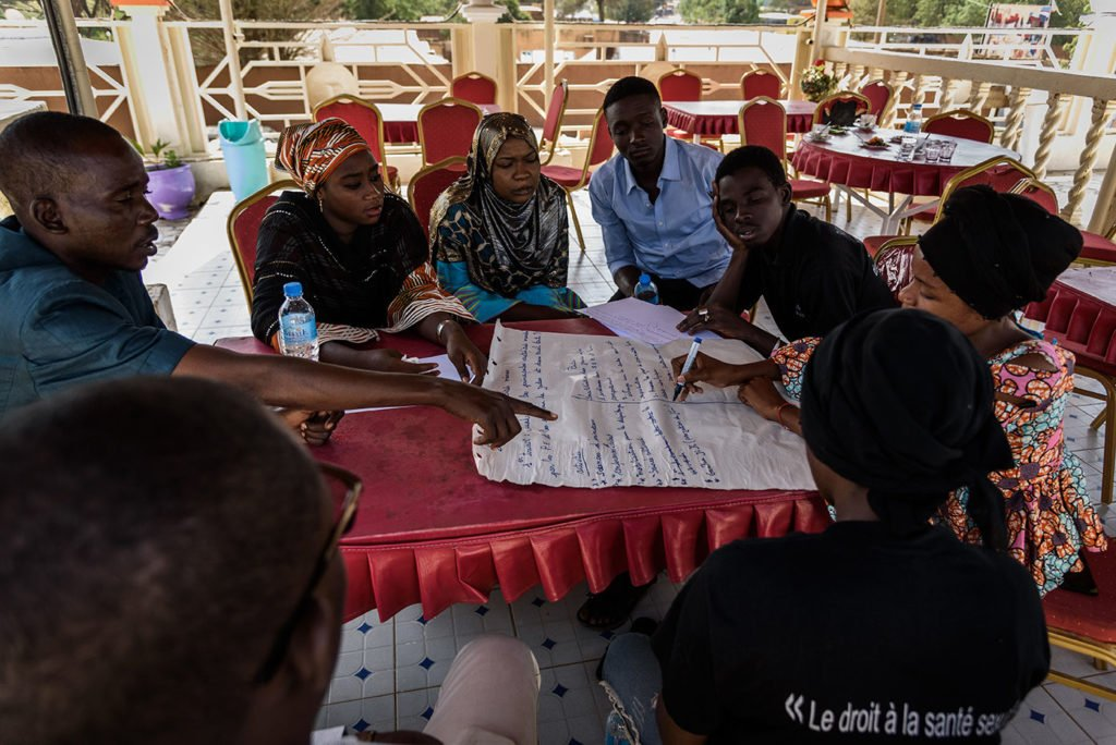 Atelier Solthis Niamey : santé des jeunes