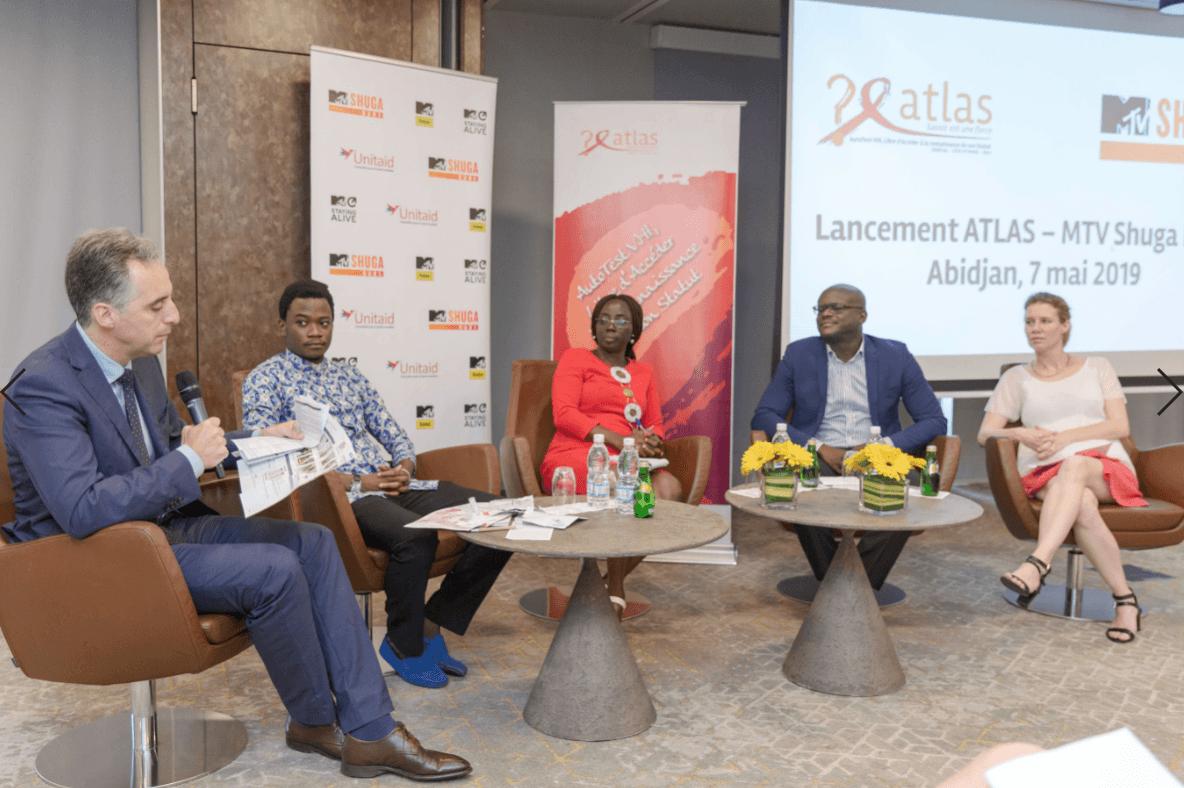 Lancement des projets ATLAS et MTV Shuga Babi en Côte d'Ivoire