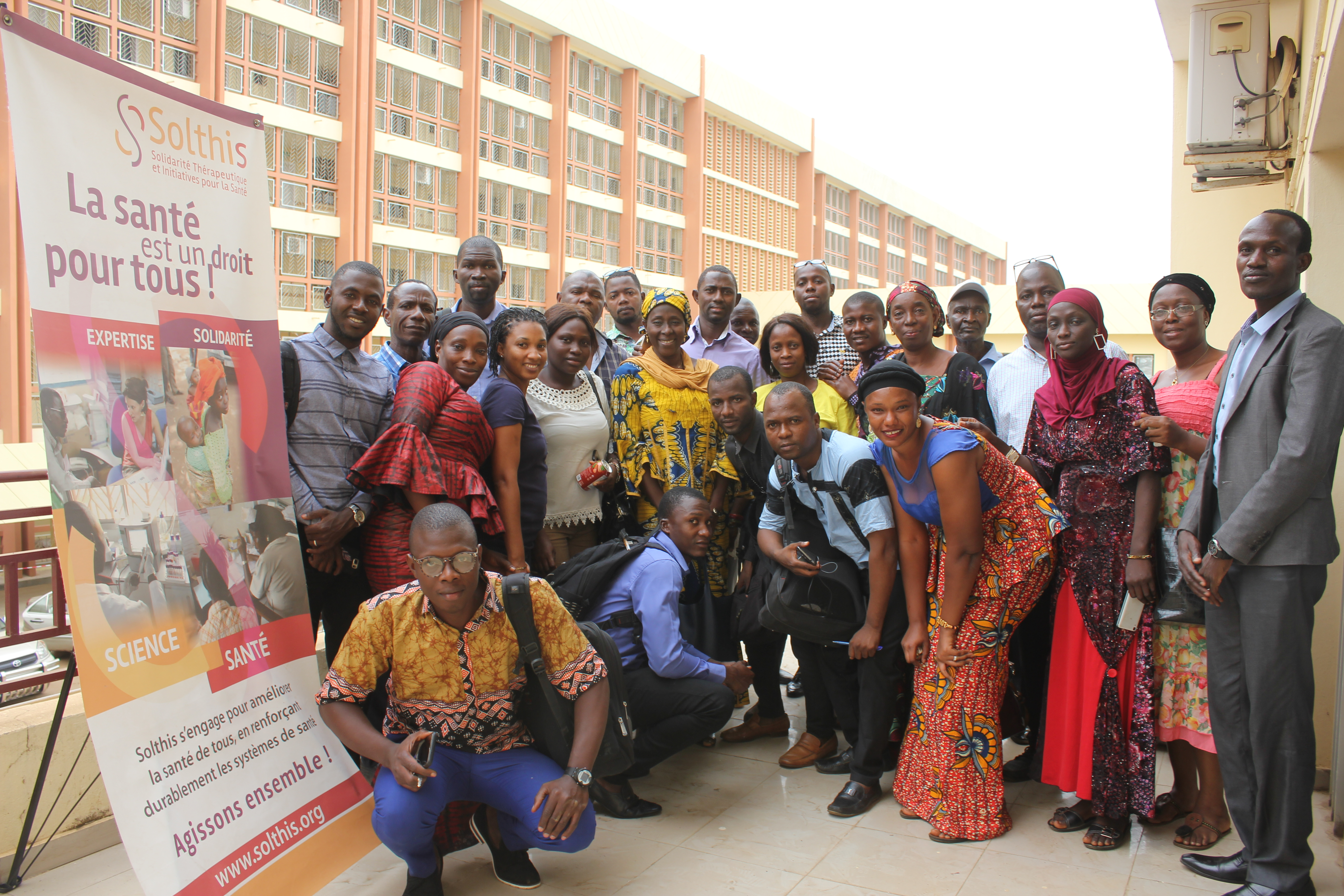 Droits des patients en Guinée - Solthis
