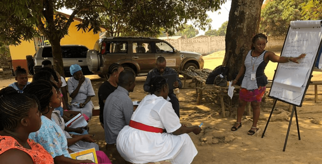 Bringing together healthcare workers to identify challenges in HIV service provision in health facilities