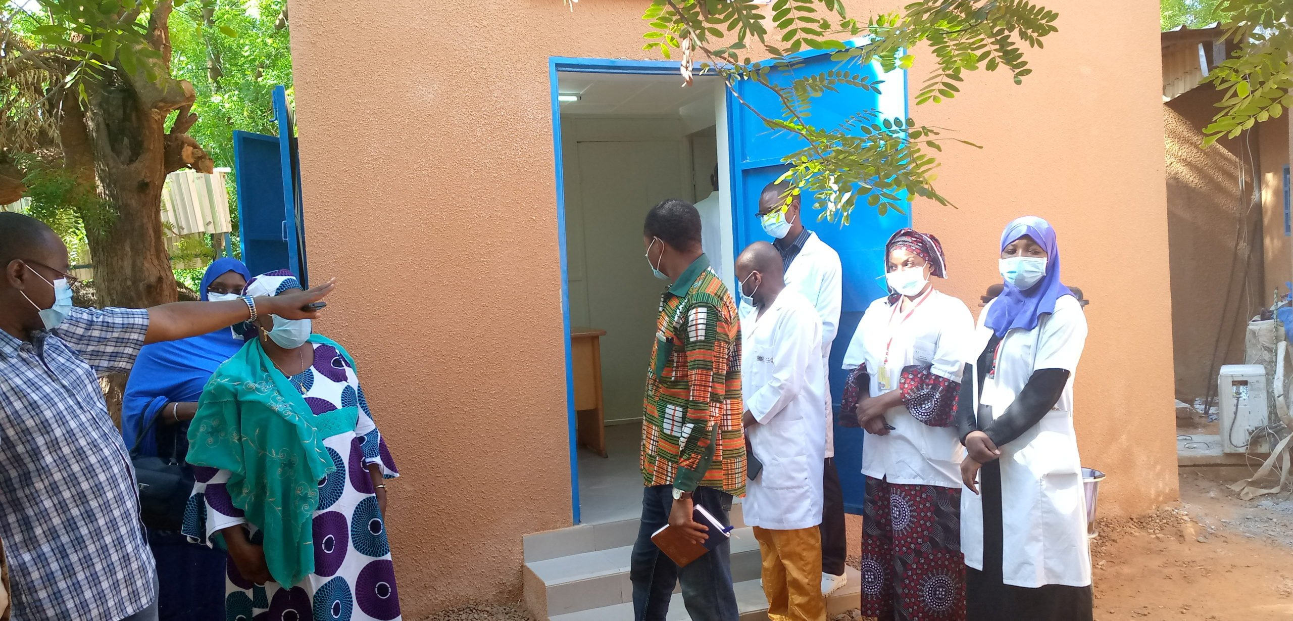 Niger – Management of Covid-19 suspected cases at the Regional Hospital Centre of Niamey
