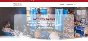 Website - I act with Solthis