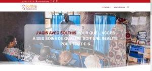 Site web - J'agis avec Solthis