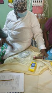 120 health professionals trained in the use of pulse oximeters in Niger