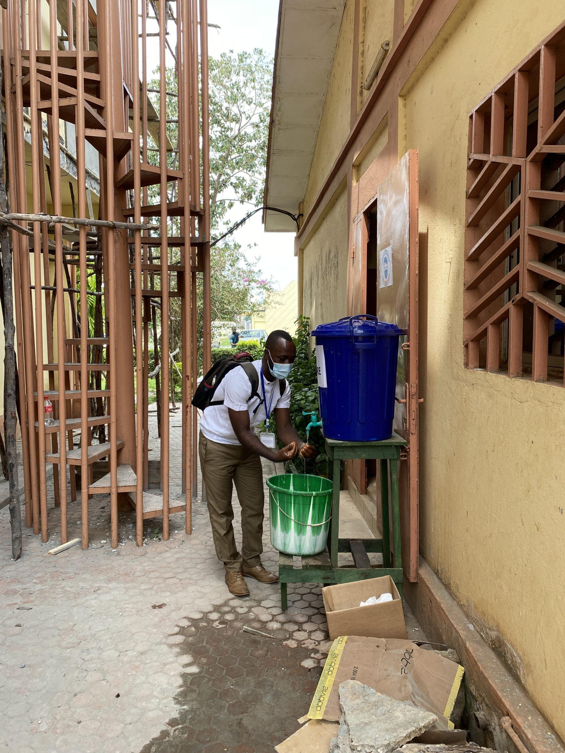 Projet Isanco : Lutte contre le Covid-19 en Guinée
