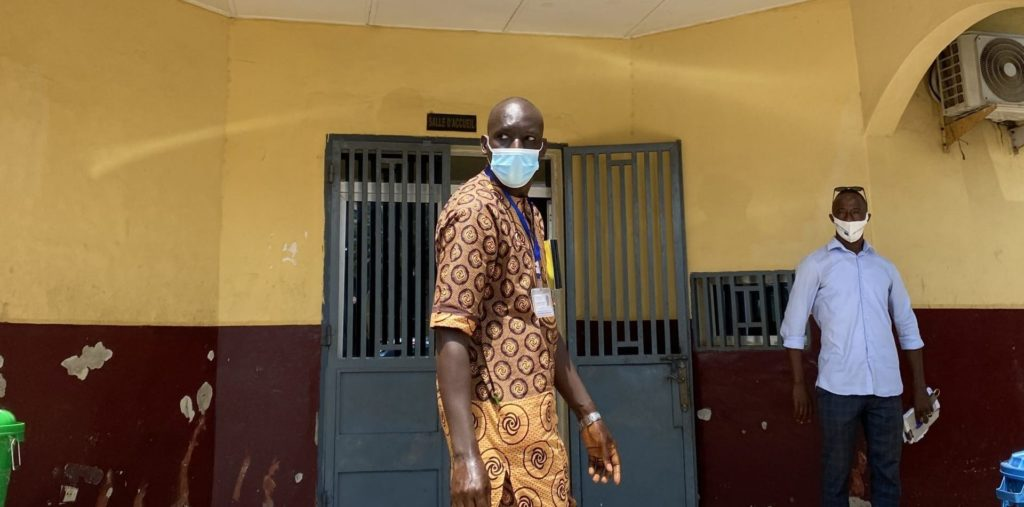 Dr Amadou Damagbe Camara, coordinateur du projet Isanco